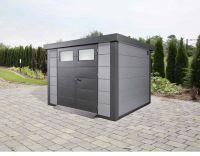 Wolff Finnhaus Metallhaus Eleganto 3024 Lichtgrau 298x238cm