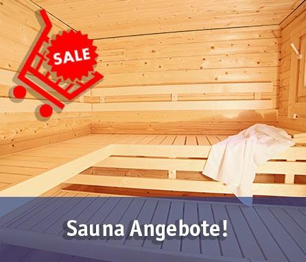 Sauna Angebote entdecken!