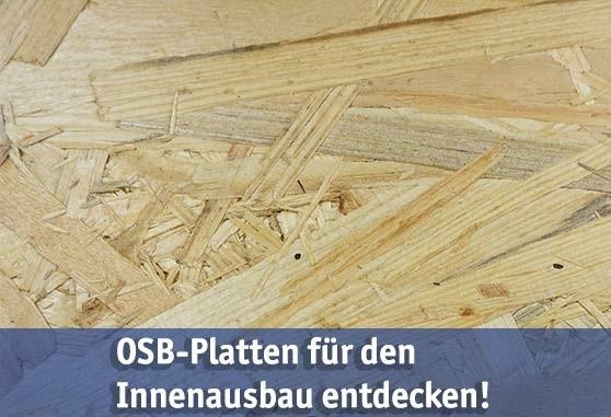 OSB-Platten günstig kaufen bei baumarkt-deutschland!