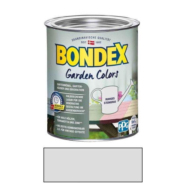 Bondex Garden Colors 0,75 l Ruhiges Steingrau für den Außenbereich
