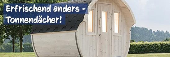 Tonnendach Gartenhaus bei baumarkt-deutschland kaufen
