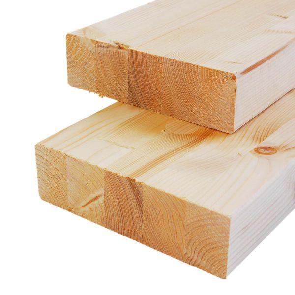 Brettschichtholz Fichte, allseitig gehobelt, stabil, 12x12x Zuschnitt cm
