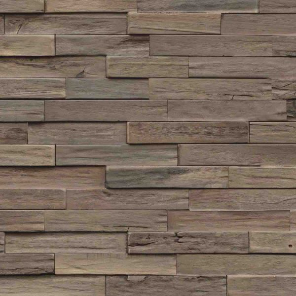 Nordje Wandpaneele Pontus | Driftwood | Gummibaum | Mindanao 560x200 mm