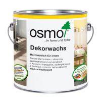 Osmo Dekorwachs Nr. 3101 farblos 2,5l, Holzanstrich für Hölzer im Innenbereich