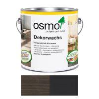 Osmo Dekorwachs Nr.3169 Schwarz 0,75l, Anstrich für Hölzer im Innenbereich