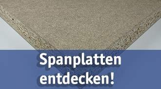 Spanplatten günstig kaufen bei baumarkt-detuschland!