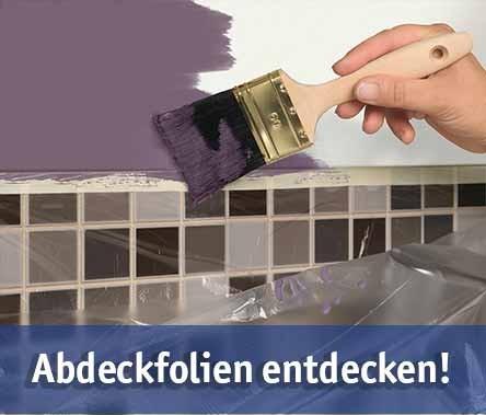 Abdeckfolie günstig kaufen bei baumarkt-deutschland!