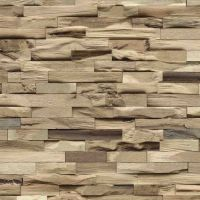 Nordje Wandpaneele Rurik | Beachwood | Walnuss | Natur | 610x150 mm