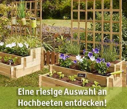 Hochbeet günstig kaufen bei baumarkt-deutschland!