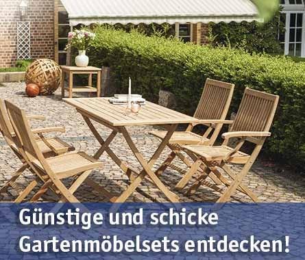 Gartenmöbelsets günstig kaufen bei baumarkt-deutschland!