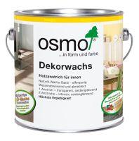 Osmo Dekorwachs Nr. 3111 weiß transparent 2,5l, Holzanstrich für Hölzer im Innenbereich