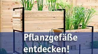 Pflanzgefäße günstig kaufen bei baumarkt-deutschland!