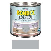 Bondex Kreidefarbe Stein Grau 0,50 l Stein Grau für den Innenbereich