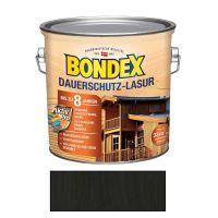 Bondex Dauerschutz-Lasur Ebenholz 2,50l