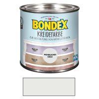 Bondex Kreidefarbe Wohnliches Grau 0,50 l Wohnliches Grau für den Innenbereich