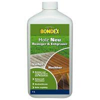 Bondex Holz Neu 1,00 l Farblos Holzentgrauer Holzreiniger