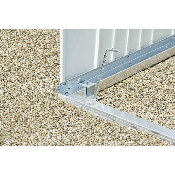 Biohort Bodenrahmen Gr. H1 für HighLine 1320x2520x40 mm