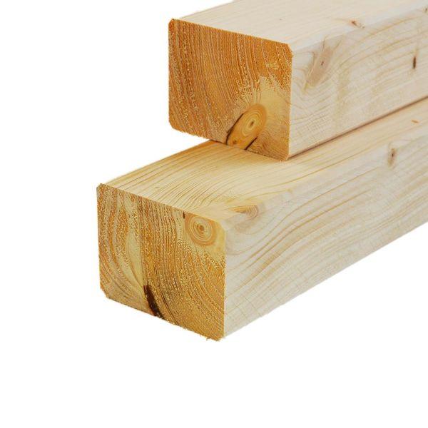 Kantholz Fichte, sägerau, frisches Holz, 8x16x400 cm