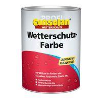 Consolan Profi Wetterschutzfarbe Weiss 0,75L Pro