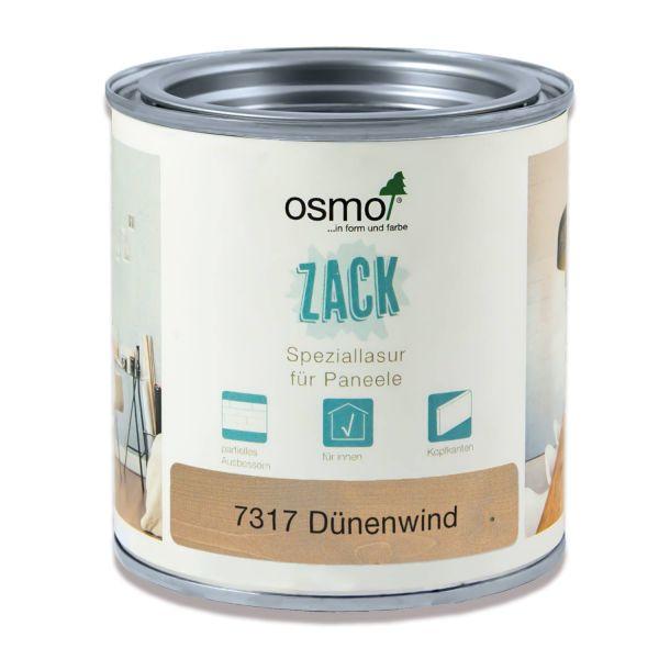 Osmo Lasur für Zack Wandpaneele 0,375l Dünenwind | zum Ausbessern kleiner Stellen