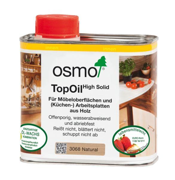 Osmo TopOil natural 500ml, die optimale Oberflächenbehandlung