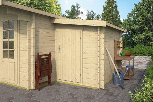 Gartenhaus - Blockhütte - Anbau 44 mm   von Nordje   300x160x185cm