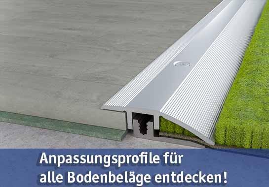 Anpassungsprofile günstig kaufen bei baumarkt-deutschland!