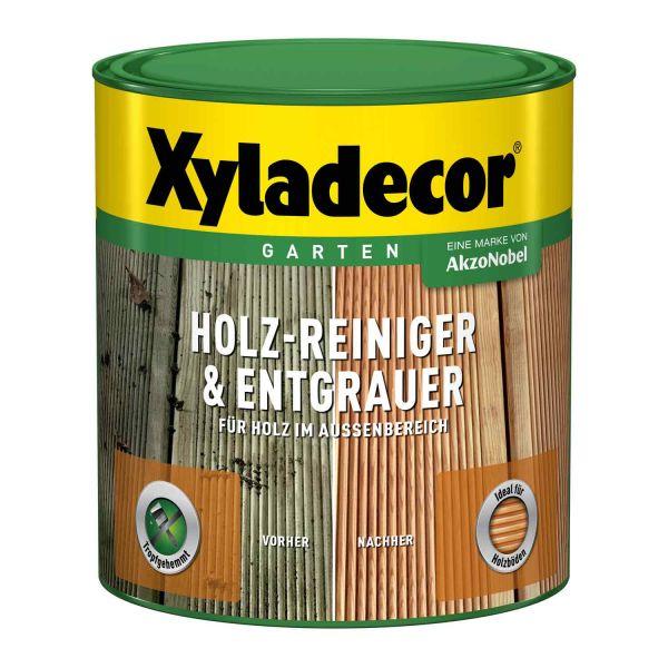 Xyladecor Holz-Reiniger & Entgrauer 2,5L Gründliche Reinigung im Außenbereich