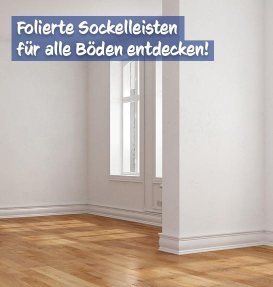 Sockelleisten Foliert bei baumarkt-deutschland kaufen