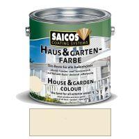 Saicos Haus & Gartenfarbe auf Naturöl-Basis Elfenbein 2,5l