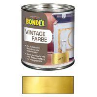 Bondex Vintage Farbe Gold 0,375l