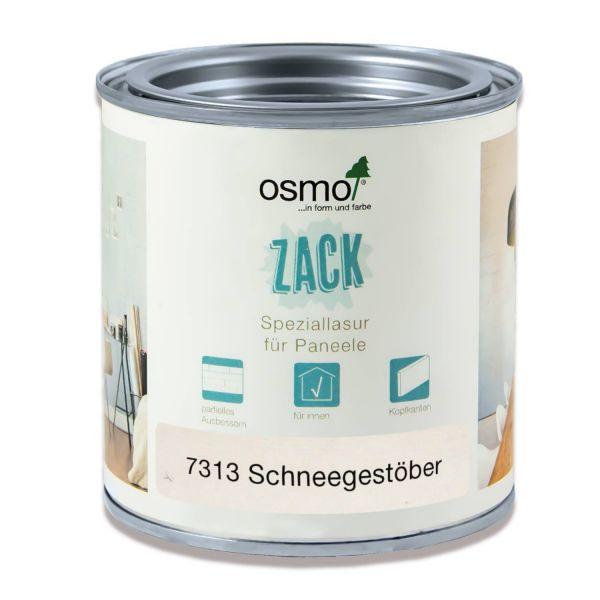 Osmo Lasur für Zack Wandpaneele 0,375l Schneegestöber | zum Ausbessern kleiner Stellen