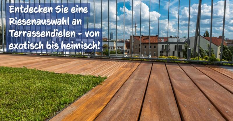 Terrassendielen bei baumarkt-deutschland kaufen