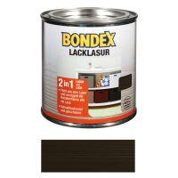 Bondex Lacklasur Schwarz 0,375l