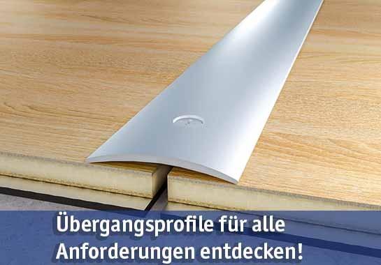 Übergangsprofile günstig kaufen bei baumarkt-deutschland!