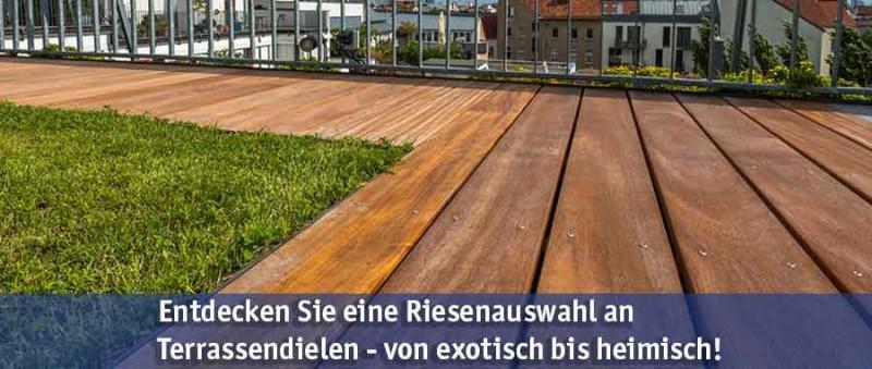 Terrassendielen günstig kaufen bei baumarkt-deutschland!