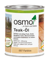 Osmo Teak-Öl 007, 2,5l, Holzanstrich für alles Holz im Außenbereich