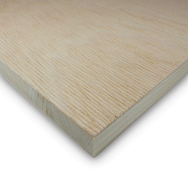 Tischlerplatte Gabun Zuschnitt 13 mm Möbelbau Platten Echtholz