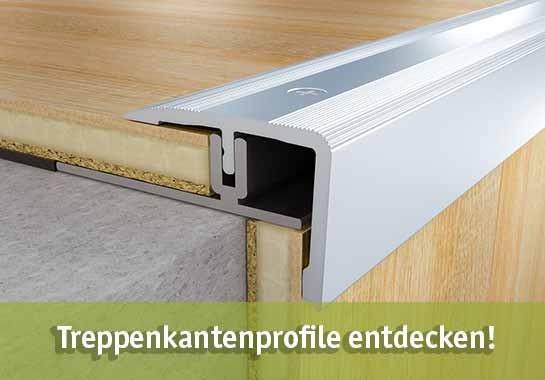 Treppenkantenprofile günstig kaufen bei baumarkt-deutschland!