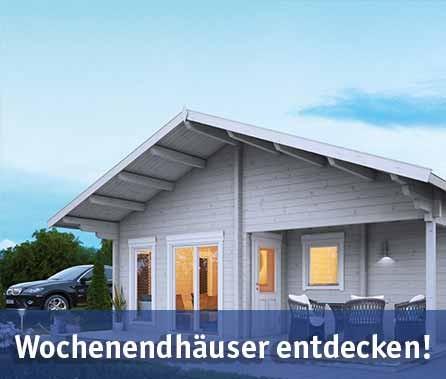 Wochenendhäuser günstig kaufen bei baumarkt-deutschland!