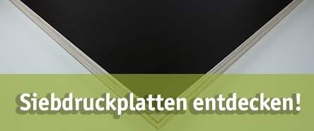 Siebdruckplatte günstig kaufen bei baumarkt-deutschland!