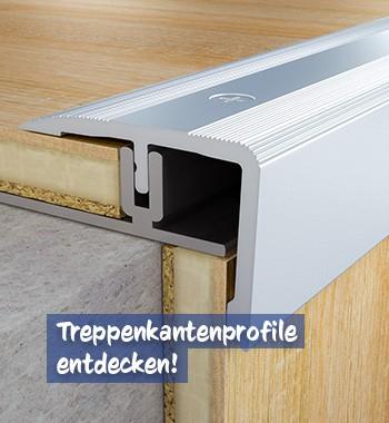 Treppenkantenprofile bei baumarkt-deutschland kaufen