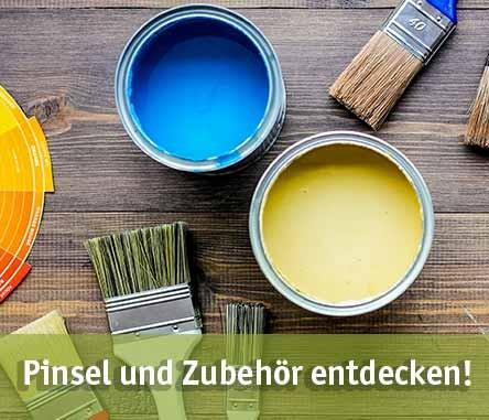 Pinsel günstig kaufen bei baumarkt-deutschland!