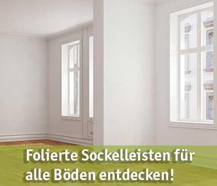 Sockelleisten foliert günstig kaufen bei baumarkt-deutschland!