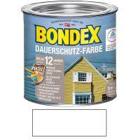 Bondex Dauerschutz-Farbe Schneeweiß 2,50l