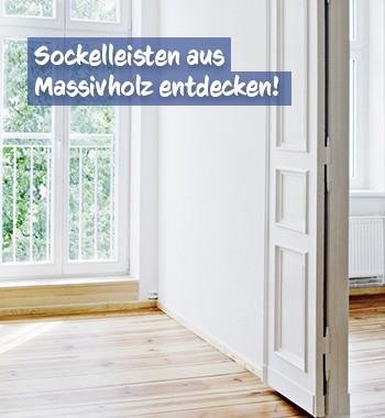 Sockelleisten Massivholz bei baumarkt-deutschland kaufen