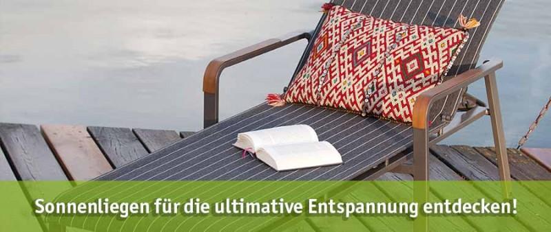 Sonnenliege günstig kaufen bei baumarkt-deutschland!