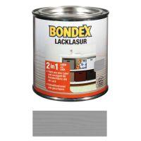 Bondex Lacklasur Silbergrau 0,375l