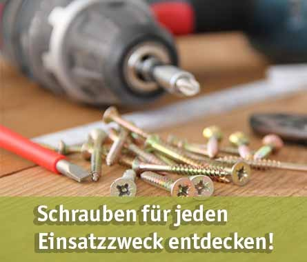 Schrauben günstig kaufen bei baumarkt-deutschland!