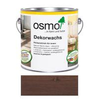 Osmo Dekorwachs Nr. 3161 Ebenholz 0,75l, Anstrich für Holz im Innenbereich